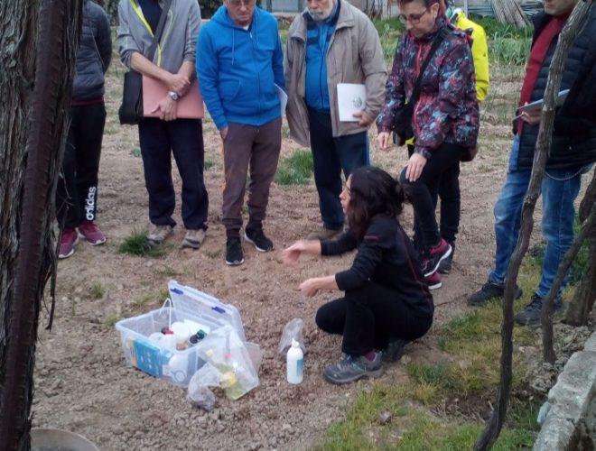 CAPACITACIÓN EN AGRICULTURA ECOLÓGICA